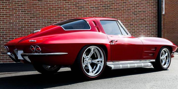 1963 Corvette Split-Window Resto-Mod Goes to Houston Auction at No Reserve