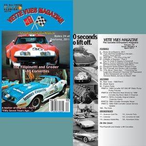 April 2011 Vette Vues Magazine Back Issue