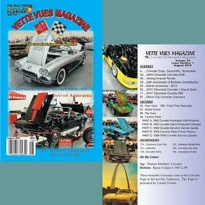 August 2010 Vette Vues Magazine Back Issue