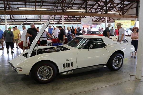 Corvettes at Carlisle is great place buy or sell your Corvette in the Automotive Flea Market Car Corral.