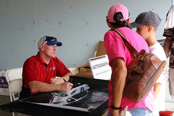Another favorite event at Corvettes at Carlisle is the Celebrity Autographs.