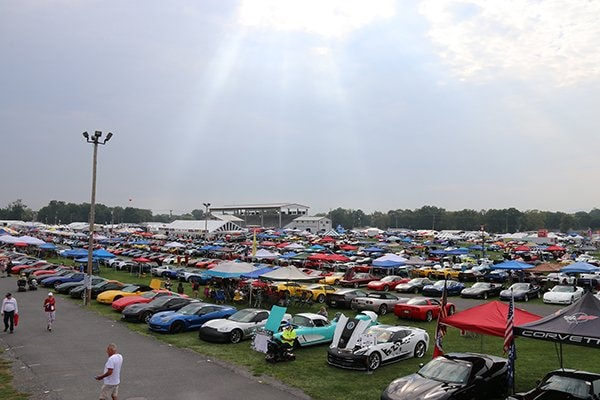 The 2021 Corvettes at Carlisle had nearly 2,800 cars on the Fun Field, mixed with over 2,000 more in general parking, there were nearly 5,000 Corvettes to see spanning every corner of the 82-acre Carlisle, PA Fairgrounds.