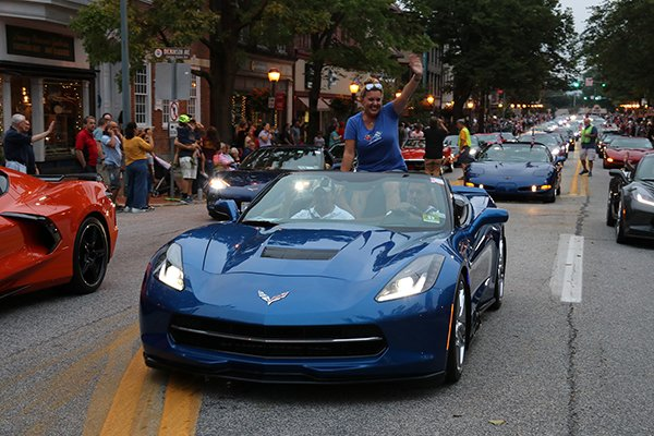 Downtown Carlisle Corvette Parade And Street Party