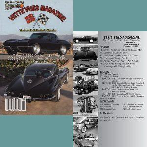 February 2009 Vintage Vette Vues Corvette Magazine Back Issue