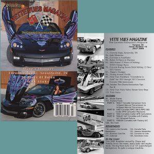 July 2008 Vintage Vette Vues Corvette Magazine Back Issue