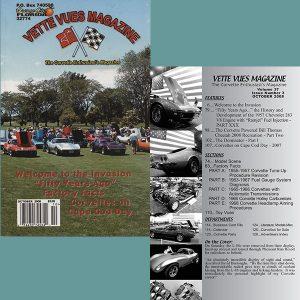 October 2008 Vintage Vette Vues Corvette Magazine Back Issue