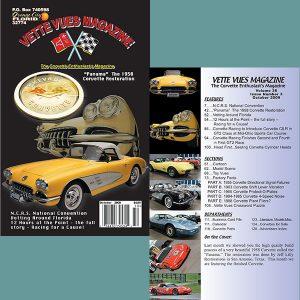 October 2009 Vintage Vette Vues Corvette Magazine Back Issue