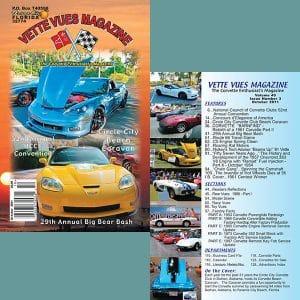 October 2011 Vette Vues Magazine Back Issue for Sale