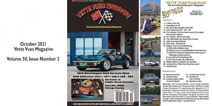 OCTOBER 2021 ISSUE PREVIEW VETTE VUES MAGAZINE