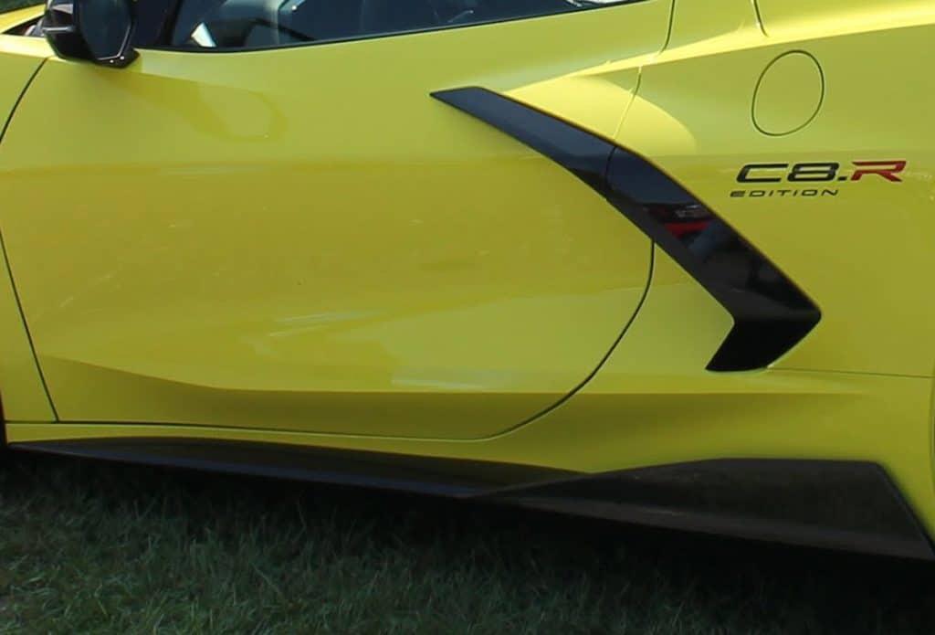 Accelerate Yellow 2022 Corvette Stingray IMSA GTLM Championship Edition