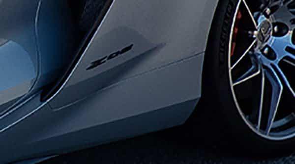 2023 Chevrolet Corvette ZO6 Logo on Lower Rear