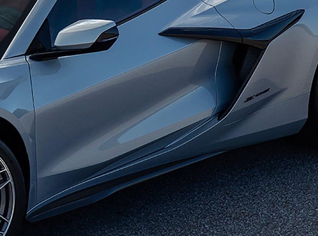 2023 Corvette ZO6 Side View.