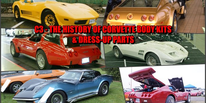 C3 PHOTOS FROM YESTERYEAR OF CORVETTE BODY KITS & DRESS-UP PARTS