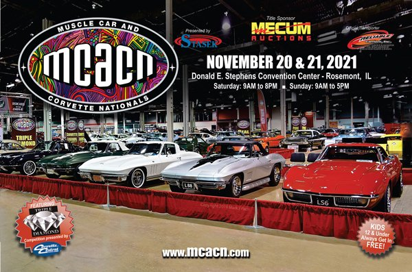 Muscle Car and Corvette Nationals 2021