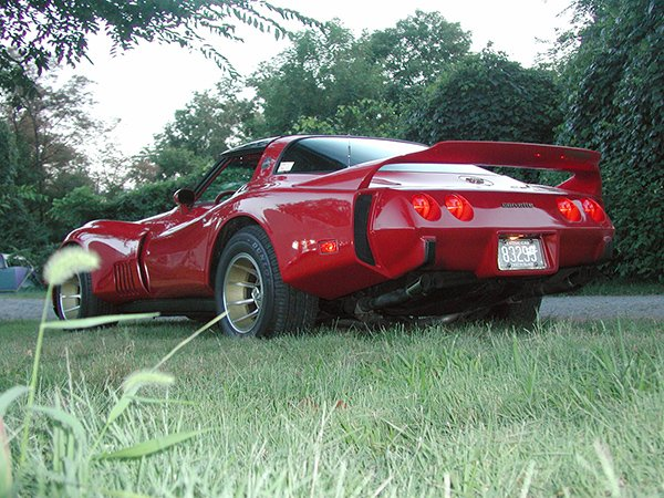 Lou Pittack, Wilkes-Barre (PA),  owned both this red Turbo GT and a Sunoco Blue Daytona for many years.