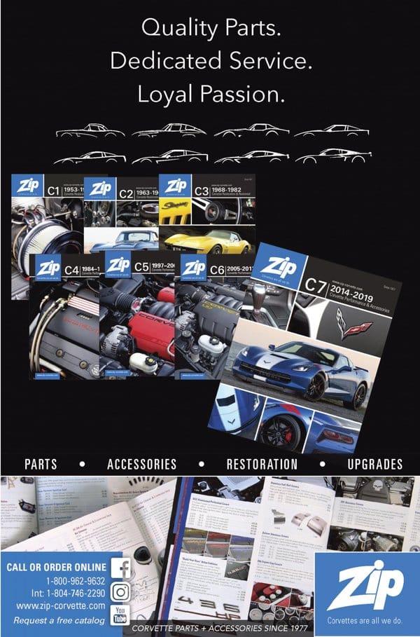 Zip Corvette Parts